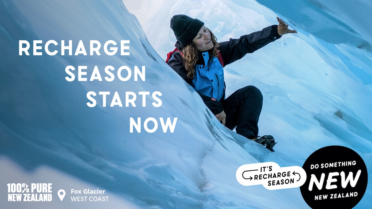 Tourism New Zealand combats fatigue in new 'Recharge Season' campaign via Special Group