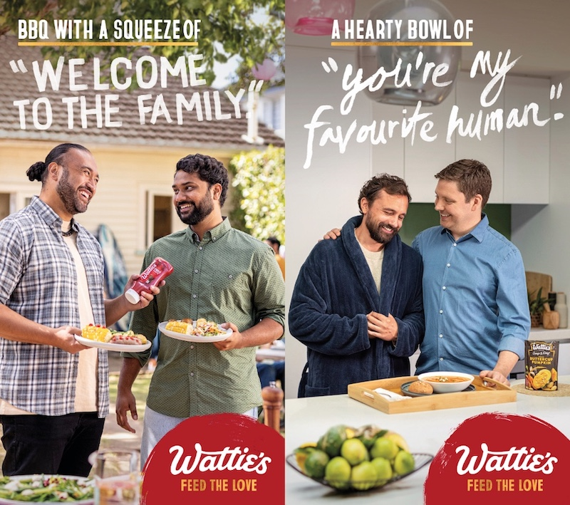 Wattie's 'feeds the love' with newly launched brand campaign via FCB New Zealand