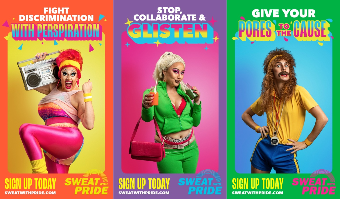 NZ AIDS Foundation fights discrimination with perspiration in 'Sweat with Pride' initiative and campaign via FCB New Zealand