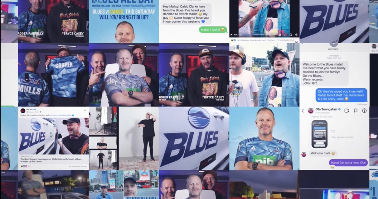 The Blues recruits new-to-Blue supporters in new 'Bring It Blue' campaign via FEDERATION