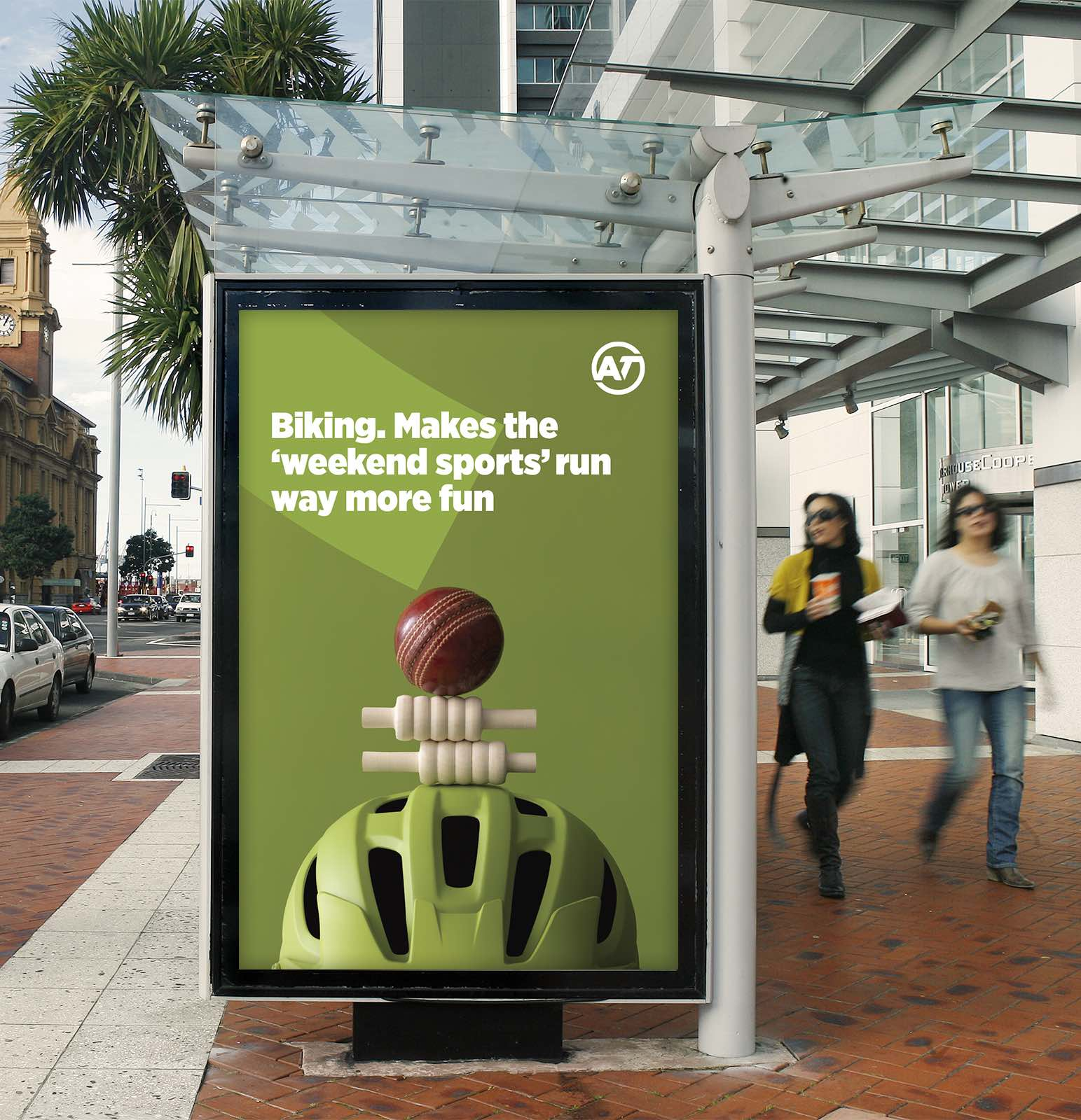 Auckland Transport delivers a record-breaking summer of cycling in new work via FEDERATION