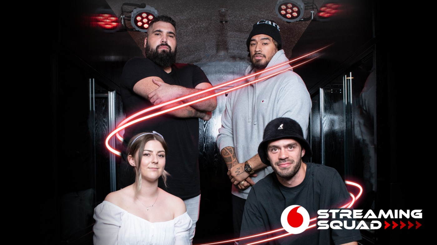 Four Kiwi celebs squad up with Vodafone to bring best gaming experiences to Aotearoa via Mango