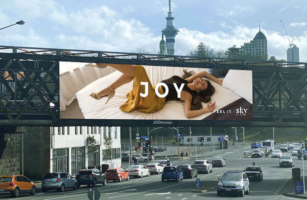 SkyCity New Zealand shows its feelings in newly launched campaign via Big