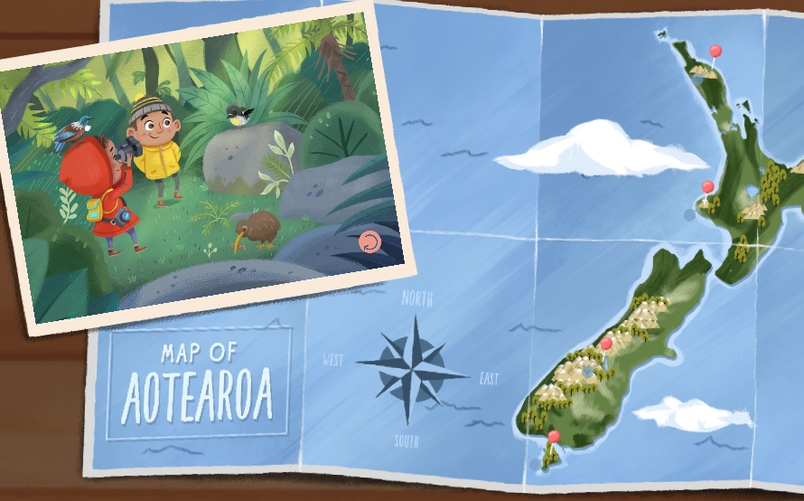 Method encourages young Kiwis to explore the best of Aotearoa in immersive gaming experience