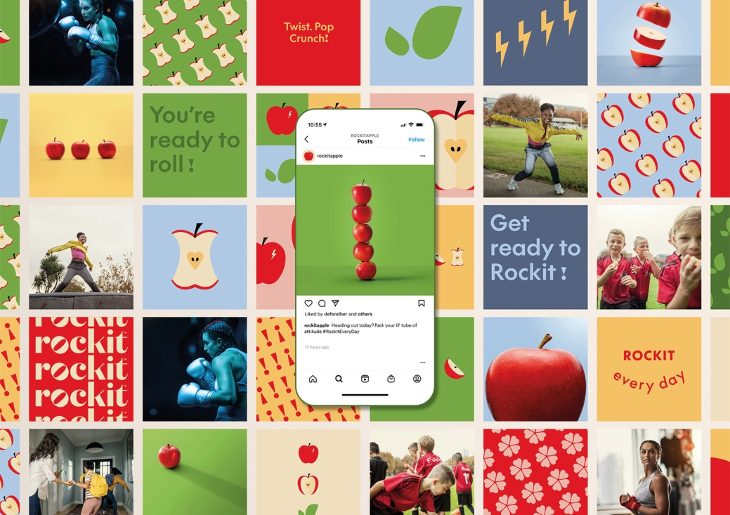 Rockit set to rock the fruit industry with new brand identity via Special Group New Zealand