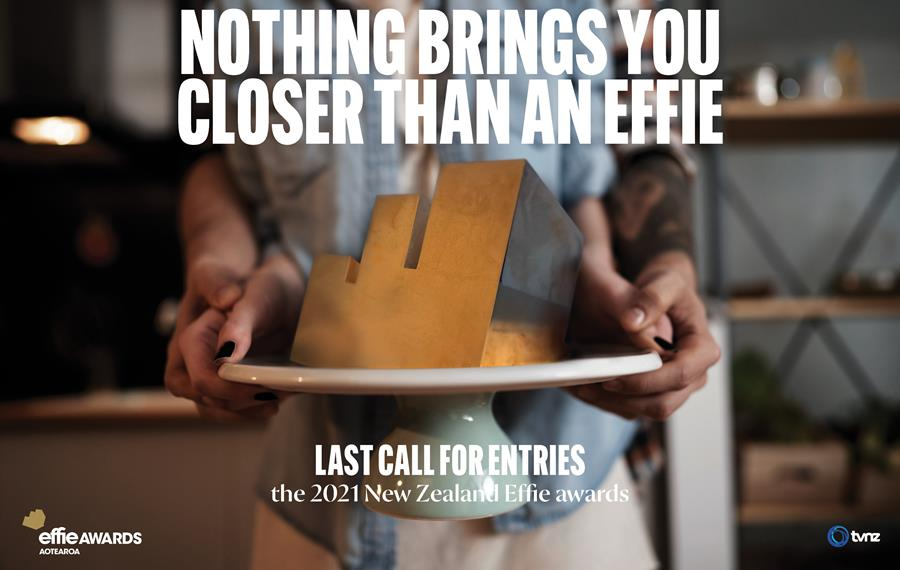 Deadline looms to submit entries to the 2021 Effie Awards; deadline 4pm next Tuesday, 17 August