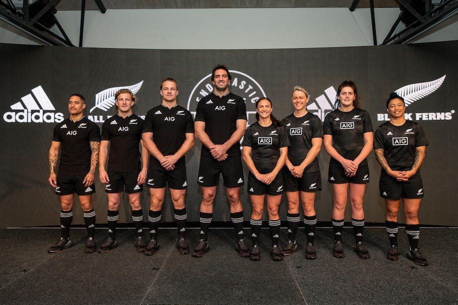 adidas launches the new All Blacks and Black Ferns Jersey in new campaign via Augusto