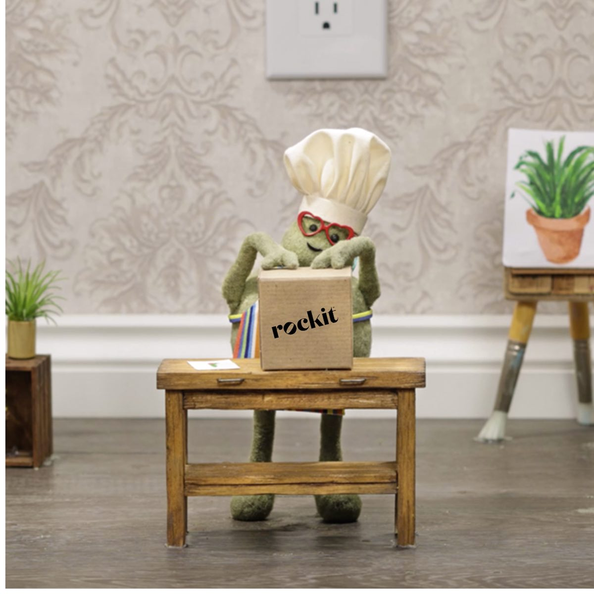 Rockit Apple partners with The Tiny Chef to showcase miniature apples