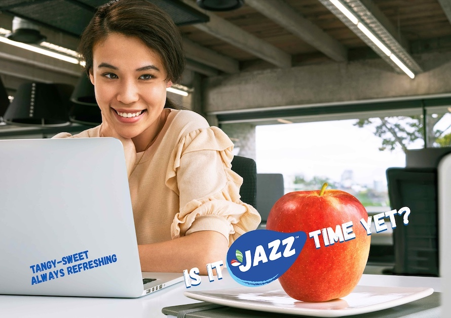JAZZ apple launches first global marketing campaign via Lachlan McPherson and Friends