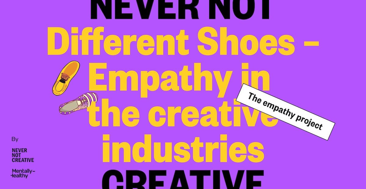 Never Not Creative and Mentally-Healthy launch new global study into industry empathy