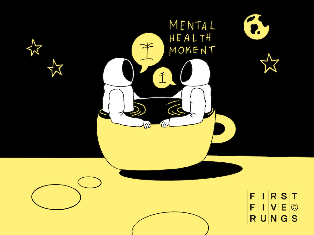 First Five Rungs encourages industry to have a Chattuccino this Mental Health Awareness Week