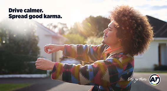 Auckland Transport creates good karma for Aucklanders in latest campaign via FEDERATION