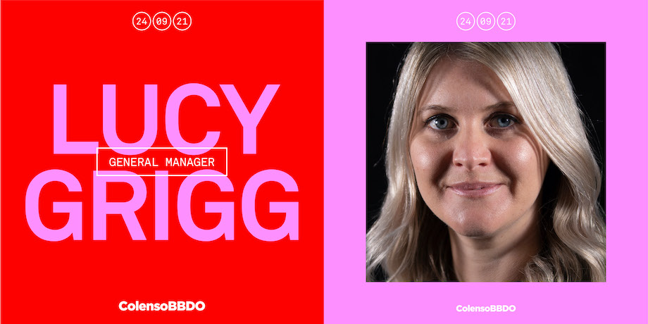 Colenso BBDO managing partner Lucy Grigg promoted to the role of general manager