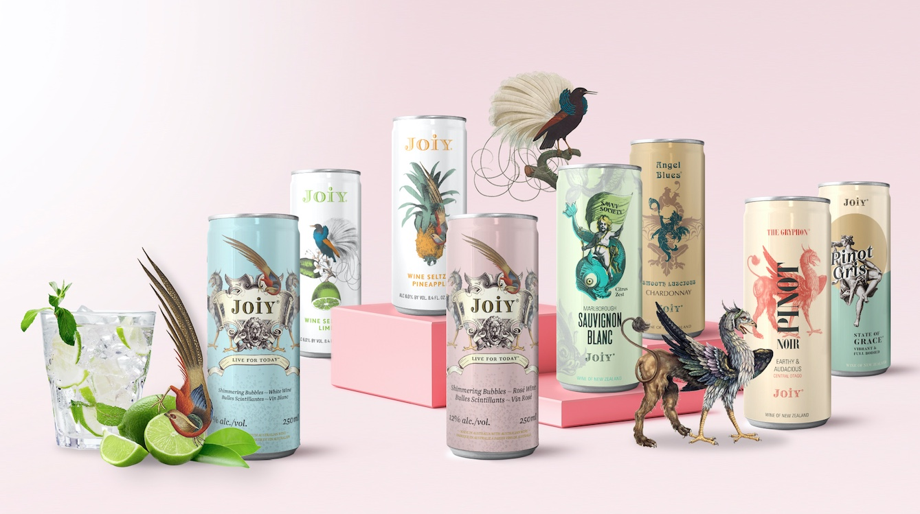 Canada's number one Wine in a Can Joiy Wines appoints Republik as new agency
