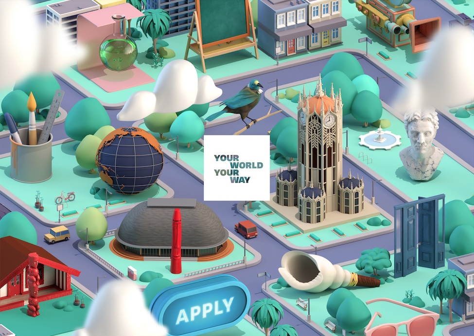 The University of Auckland reimagines the student journey in second phase of its 'Your World Your Way' platform via Method